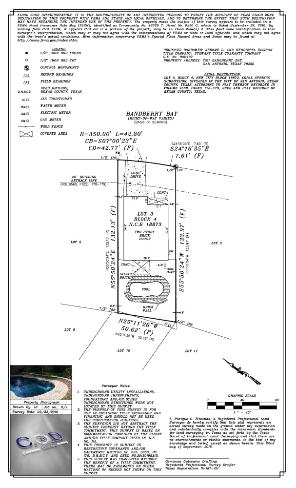 Autocad, cad services, cad drafting, outsource, Title Survey, topographic survey
